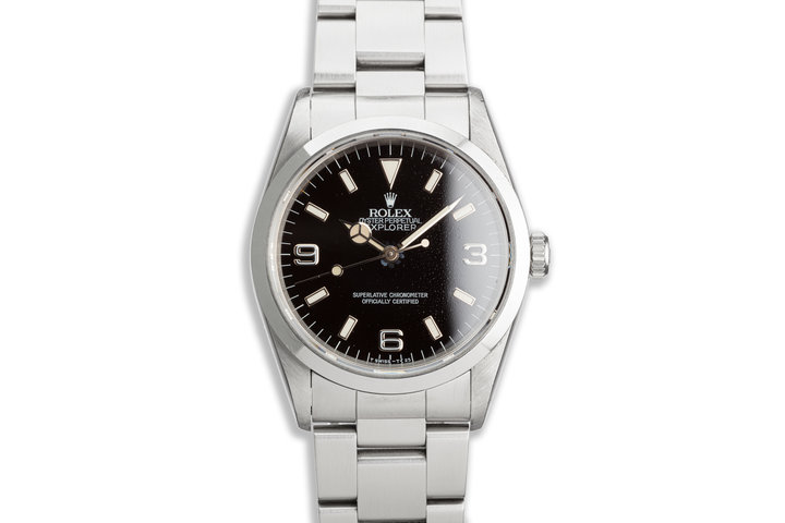 1995 Rolex Explorer 14270 with Box Papers & Service Papers photo