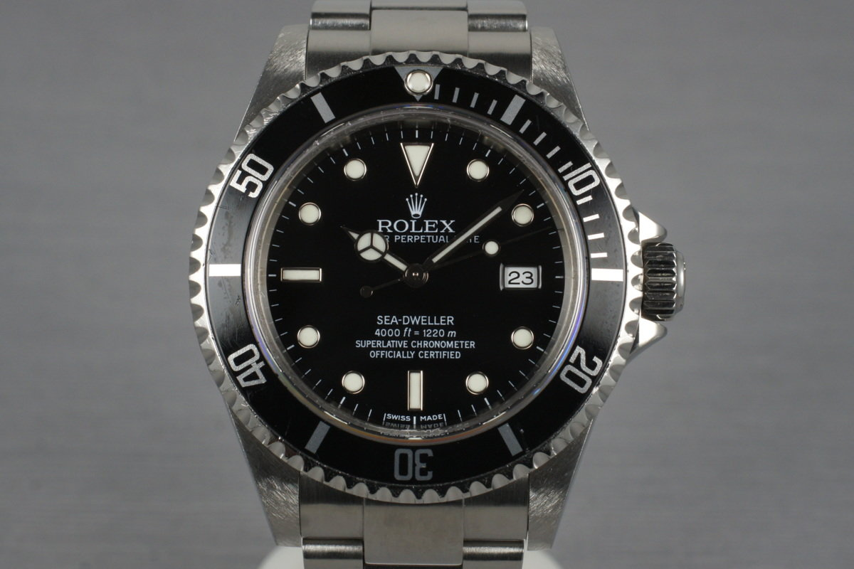 2004 Rolex Sea Dweller 16600T with Box and Papers photo, #0