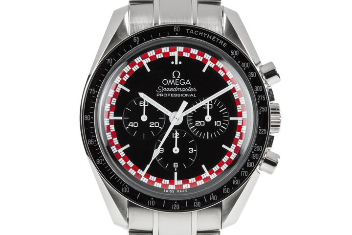 "2016 Omega Speedmaster Racing 311.30.42.30.01.004 ""Tin Tin"" Dial with Box and Papers photo"