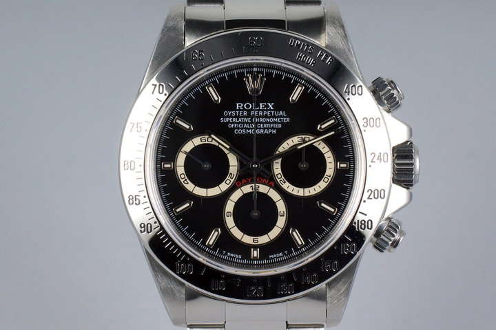 1997 Rolex Zenith Daytona 16520 Black Dial photo