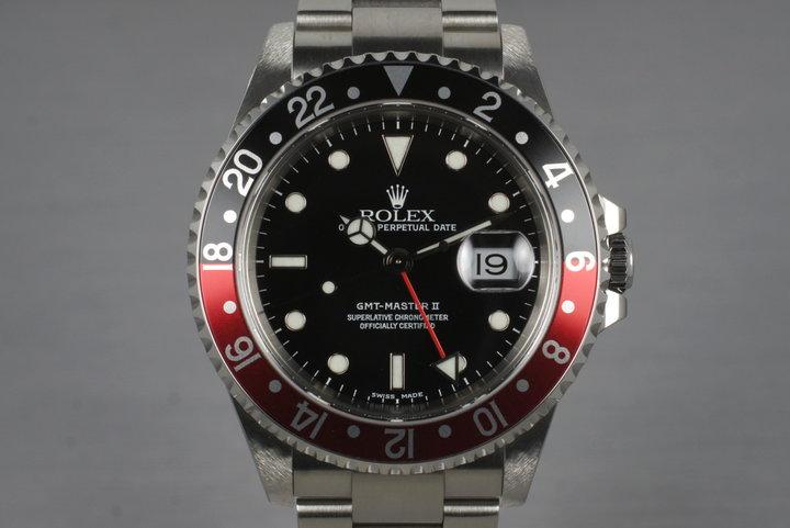 1999 Rolex GMT II 16710 photo