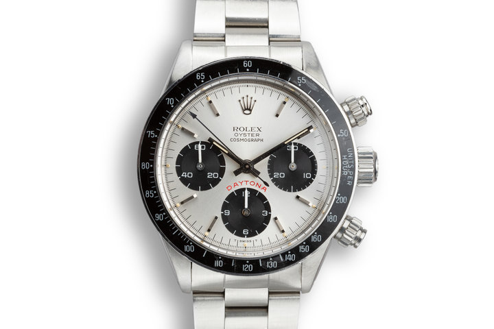 "1980 Rolex Daytona 6263 Silver ""Big Red"" Dial photo"