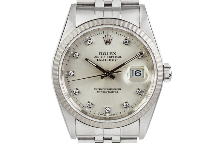 1995 Rolex Datejust 16234 With Diamond Markers photo