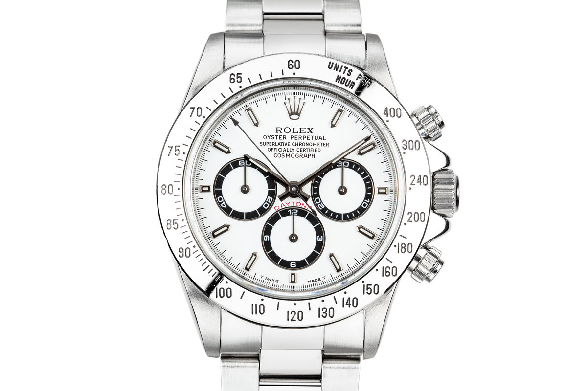 1995 Rolex Daytona 16520 White Dial photo, #0