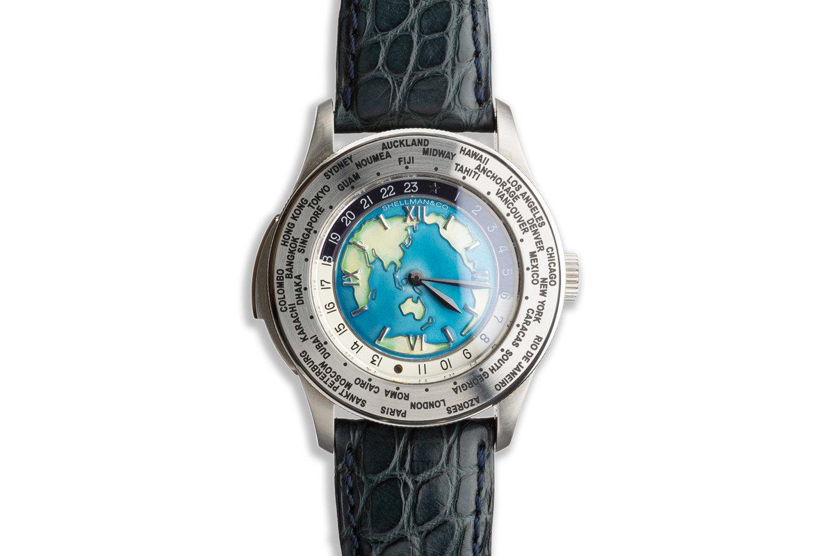 2003 Shellman Quartz World Time Minute Repeater Limited Edition XXX/999 photo, #0
