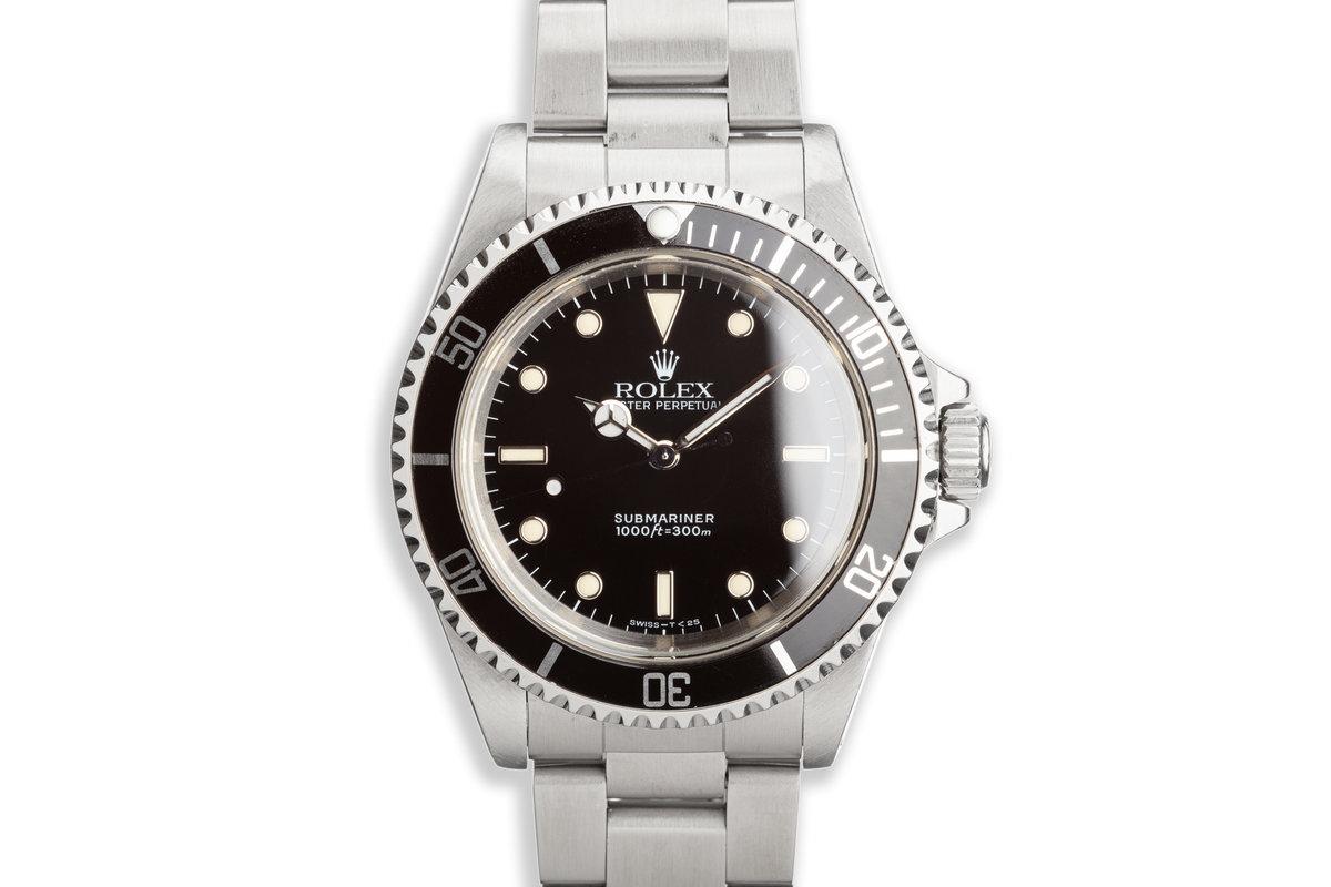 1989 Rolex Submariner 14060 photo, #0