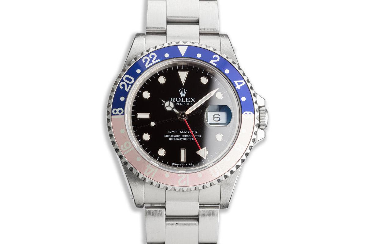 """1990 Rolex GMT-Master 16700 """"Pepsi"""" photo, #0"""