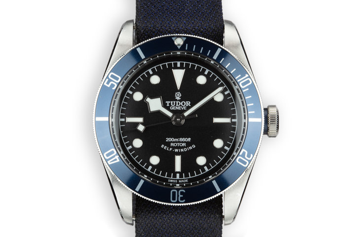 2018 Tudor Black Bay Heritage 79220B with Box and Papers photo