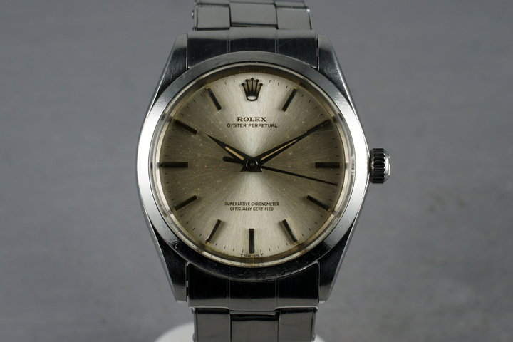 1964 Rolex Oyster Perpetual 1002 with Papers photo
