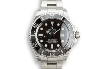 2010 Rolex Deep Sea-Dweller 1166600 with Box and Papers photo