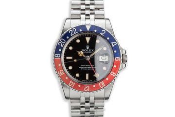 """1982 Rolex GMT-Master 16750 """"Pepsi"""" photo"""