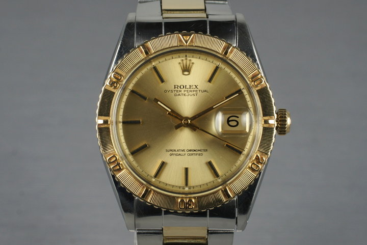 1971 Rolex Two Tone DateJust Thunderbird 1625 photo
