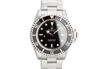 1996 Rolex Submariner 14060 photo
