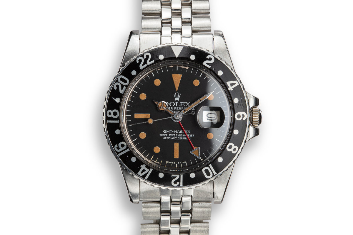 FS: 1979 Rolex GMT-Master 1675 Radial Dial with Black Bezel with Papers photo, #0
