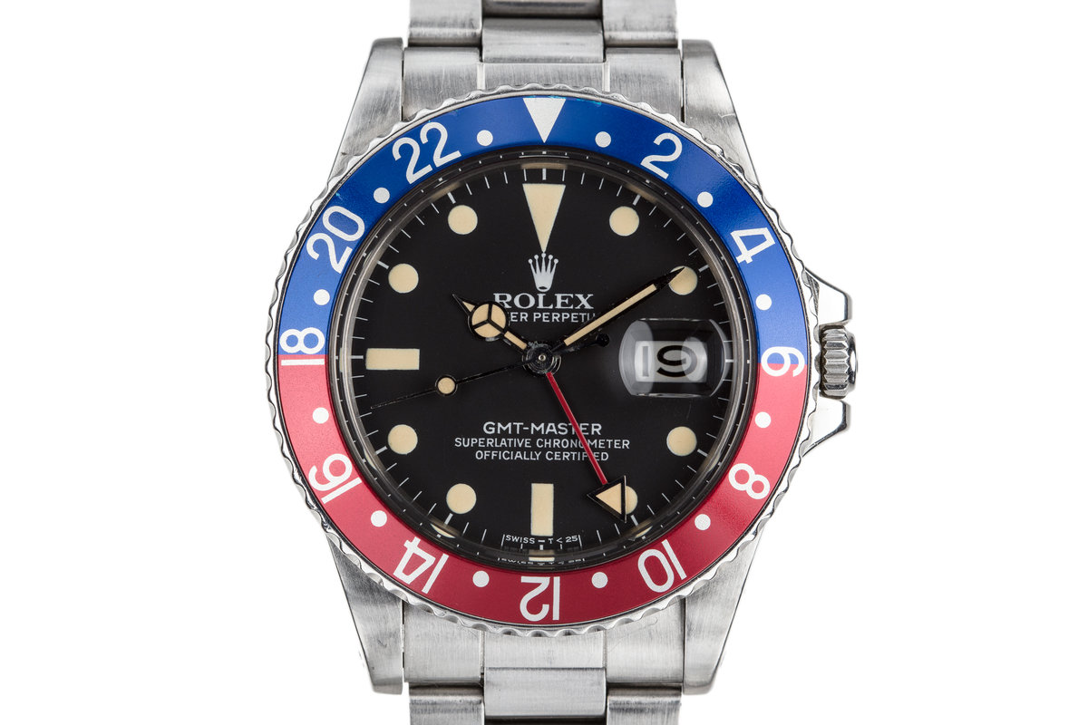"1981 Rolex GMT-Master 16750 ""Pepsi"" with Matte Dial photo, #0"
