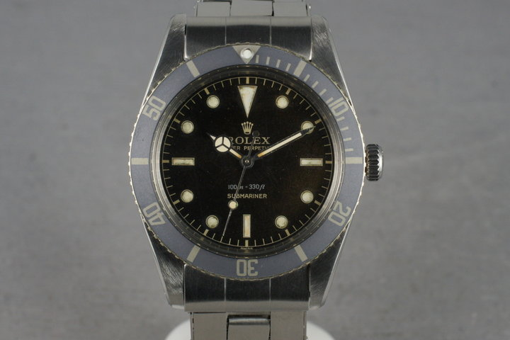 1957 Rolex Spider Dial Submariner 6536-1 photo