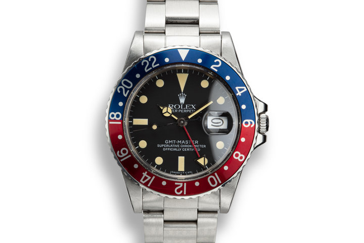 "1982 Rolex GMT-Master 16750 ""Pepsi"" with Box and Papers photo"
