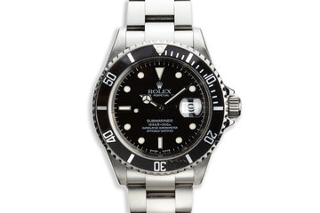 2003 Rolex 16610 Submariner photo