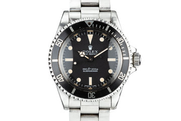 1971 Rolex Submariner 5513 photo