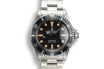 1979 Rolex Submariner 5513 photo