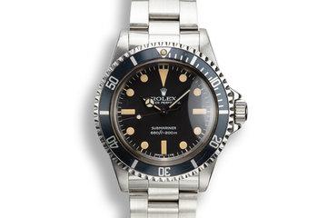 1979 Rolex Submariner 5513 photo