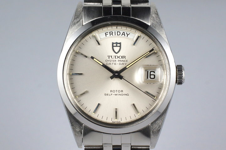 1980's Tudor Date-Day 94710 Silver Dial photo