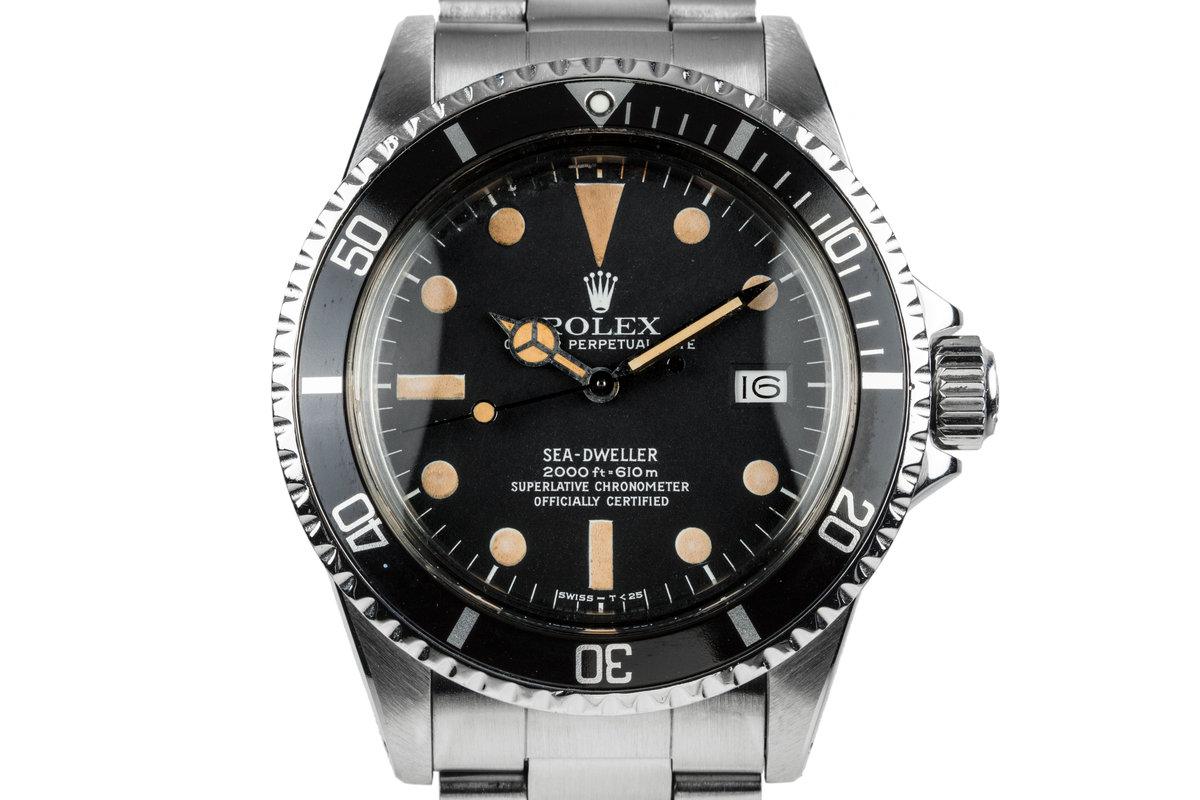 1978 Rolex Sea-Dweller 1665 with Service Papers photo, #0