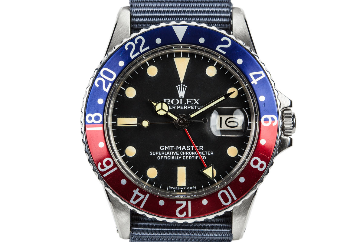 1967 Rolex GMT-Master 1675 with Newer Service Dial photo, #0