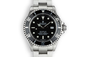 2005 Rolex Sea-Dweller 16600 photo