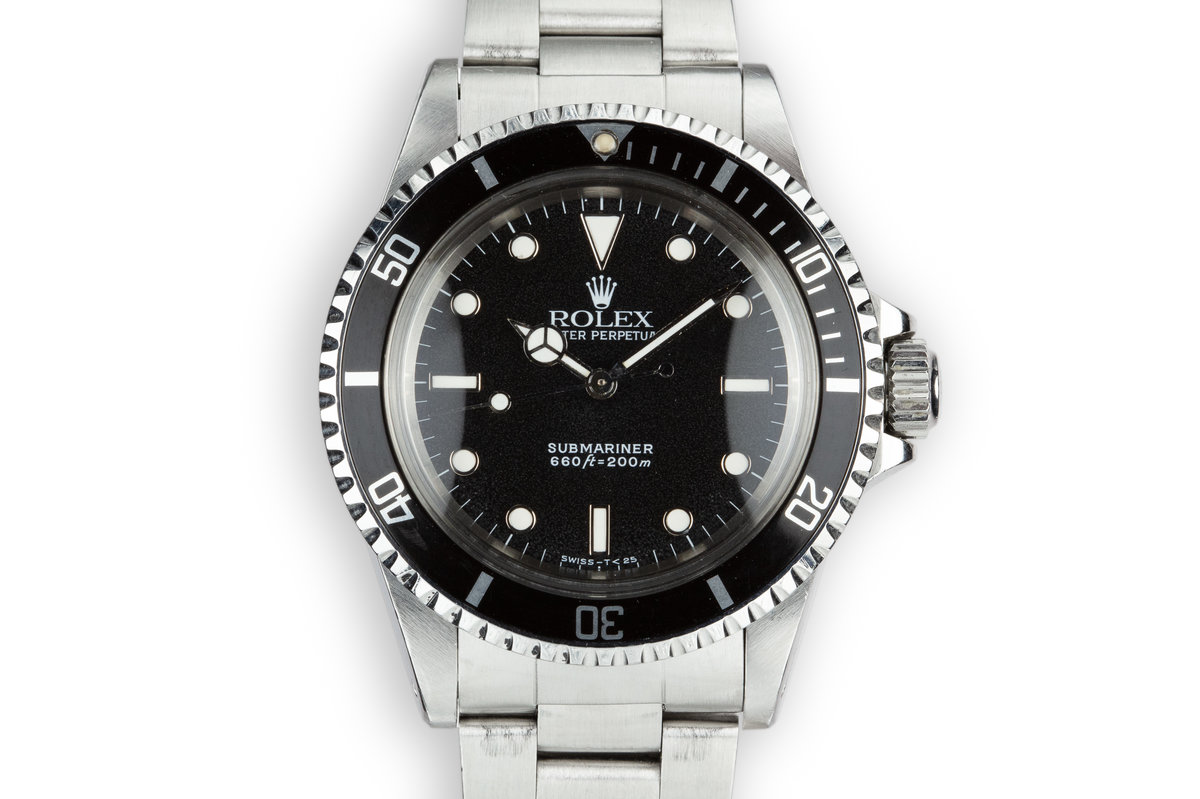1989 Rolex Submariner 5513 photo, #0