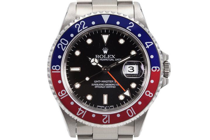 1995 Rolex GMT II 16710 photo