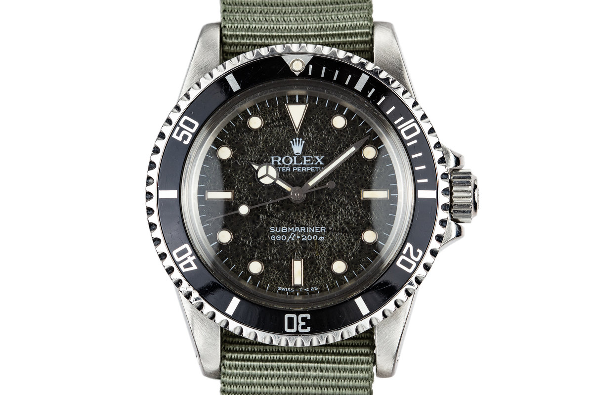 "1985 Rolex Submariner 5513 with ""Spider"" Dial photo, #0"