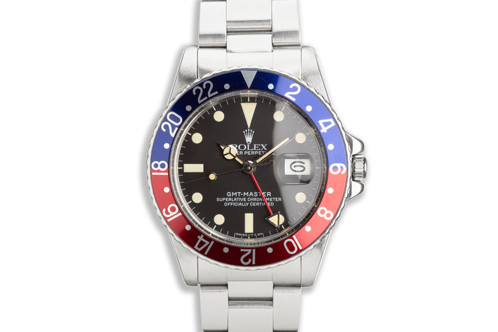 "1984 Vintage Rolex GMT-Master 16750 ""Pepsi"" photo"
