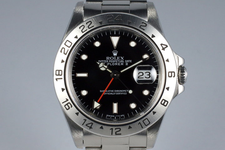 1991 Rolex Explorer II 16570 Black Dial photo