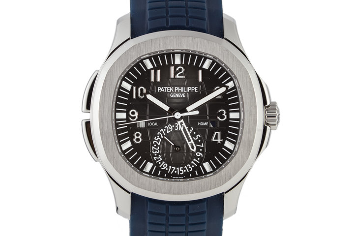 2016 Aquanaut 5164A Dual Time with Box and Papers photo