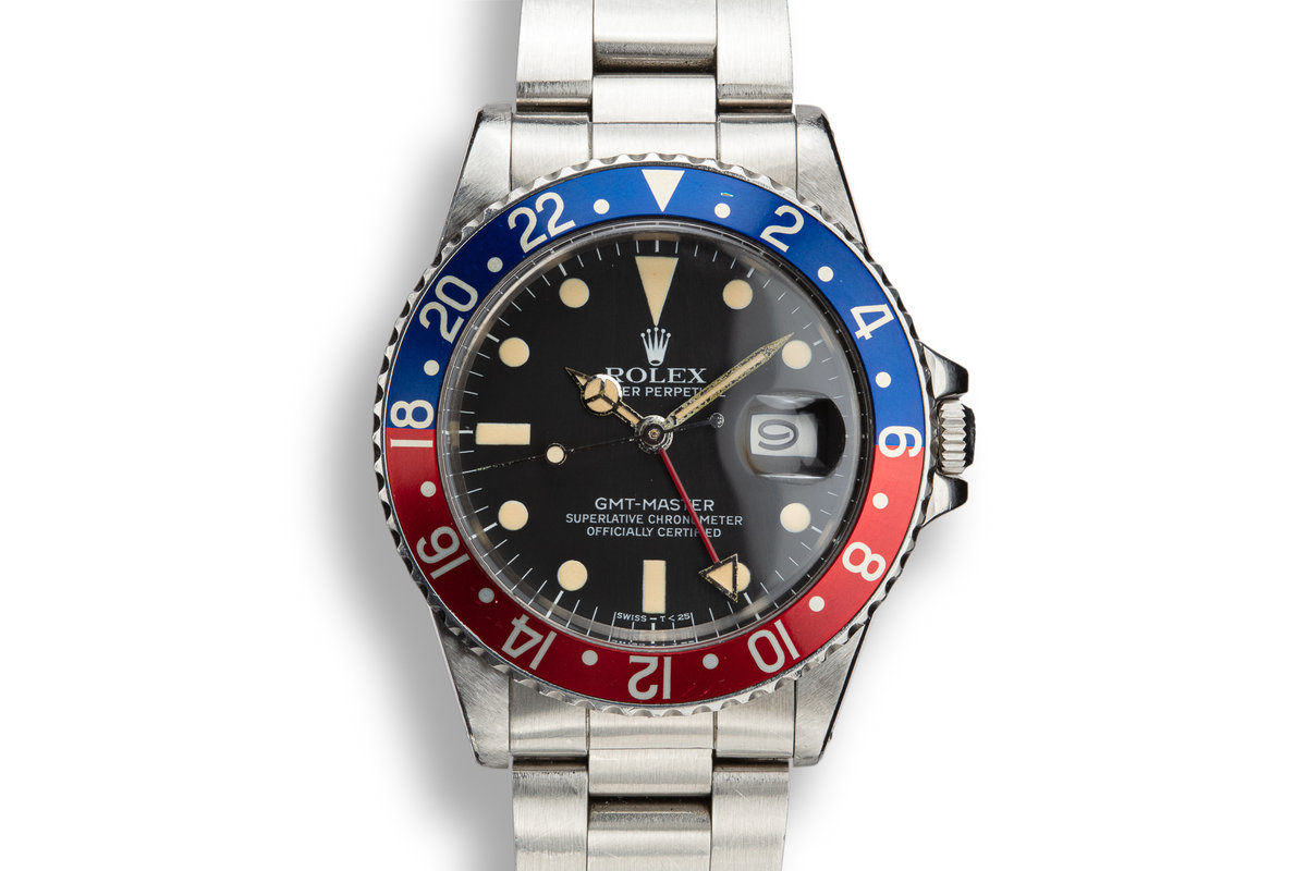 "1982 Rolex GMT-Master 16750 ""Pepsi"" with Box and Papers photo, #0"