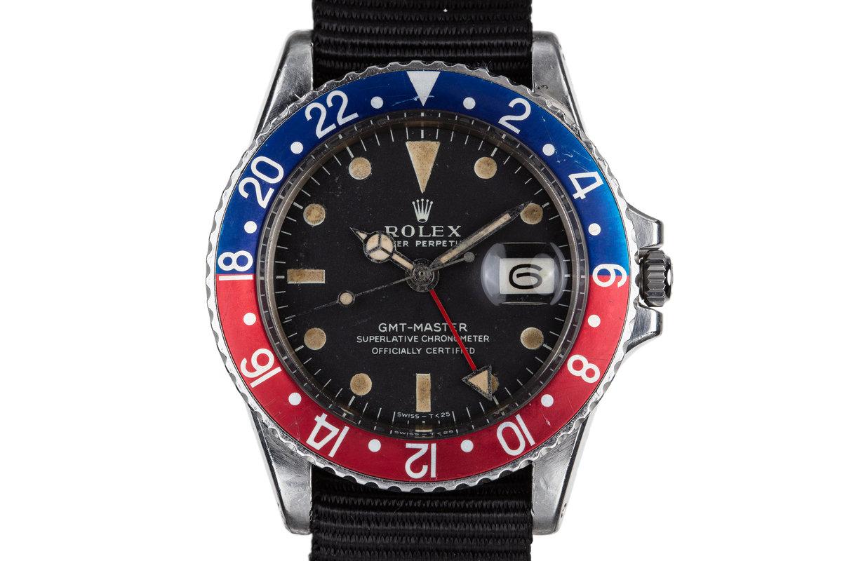 """1970 Rolex GMT-Master 1675 """"Pepsi"""" photo, #0"""