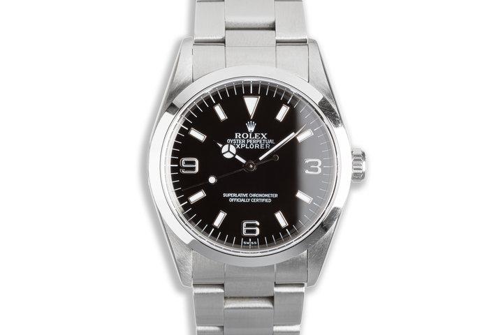 "1999 Rolex Explorer 14270 ""Swiss Only"" Dial photo"