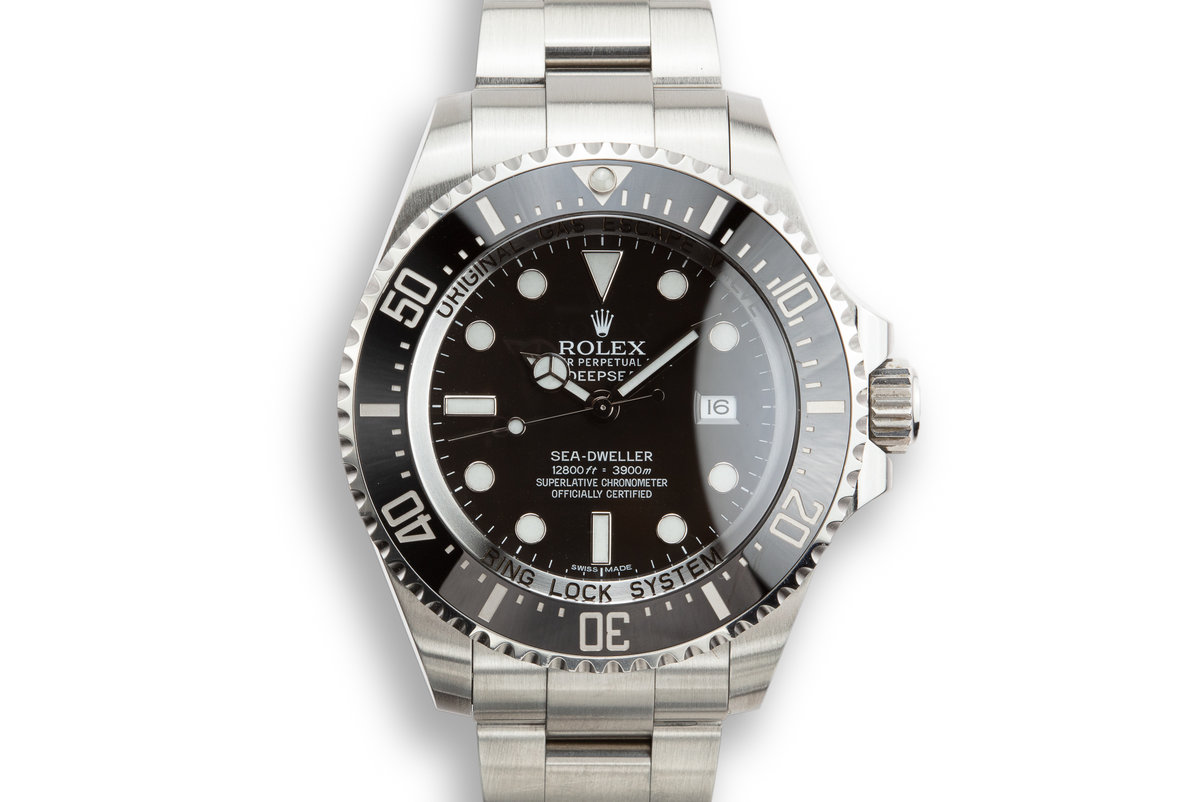 2010 Rolex Deep Sea-Dweller 116660 with Box and Card photo, #0