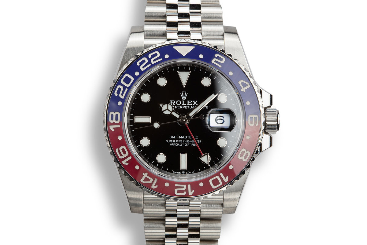 "2018 Rolex GMT-Master II 126710BLRO ""Pepsi"" with Box and Papers photo, #0"