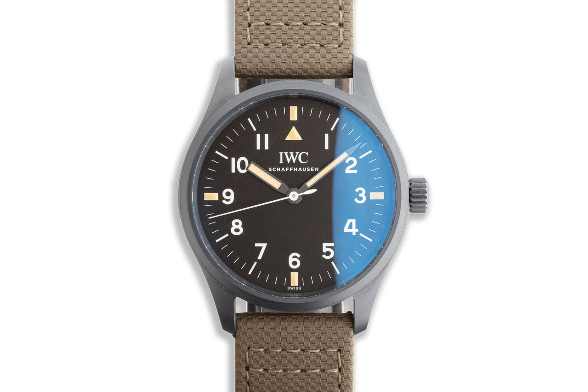 """2019 Pilot's Watch Mark XVIII IW324801 """"Hodinkee"""" Limited Edition with Box & Card photo, #0"""