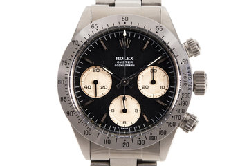 1975 Rolex Daytona 6265 Black Sigma Dial photo