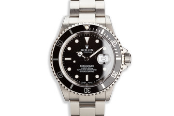 2003 Rolex Submariner 16610T with Box and Papers photo