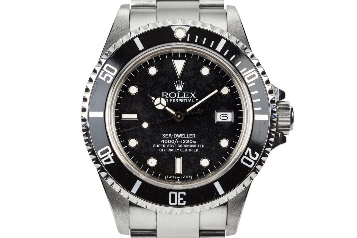 "1986 Rolex Sea-Dweller 16660 with ""Stardust"" Dial photo, #0"