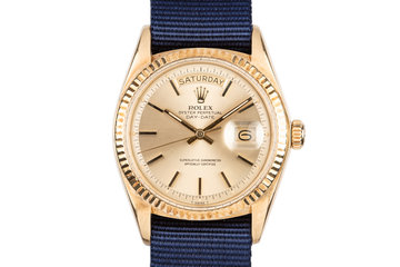 1977 Rolex 18K Day-Date 1803 Gold Dial photo
