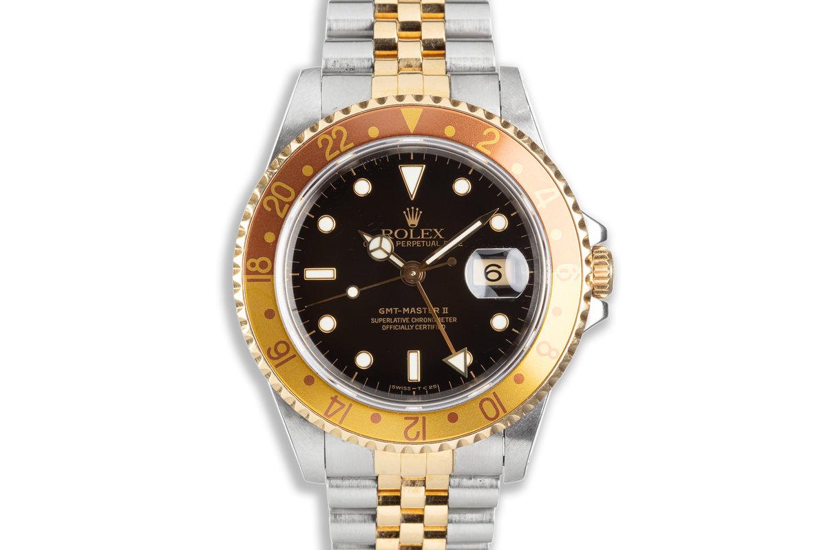 1991 Rolex 18k/st GMT-Master II 16713 photo, #0