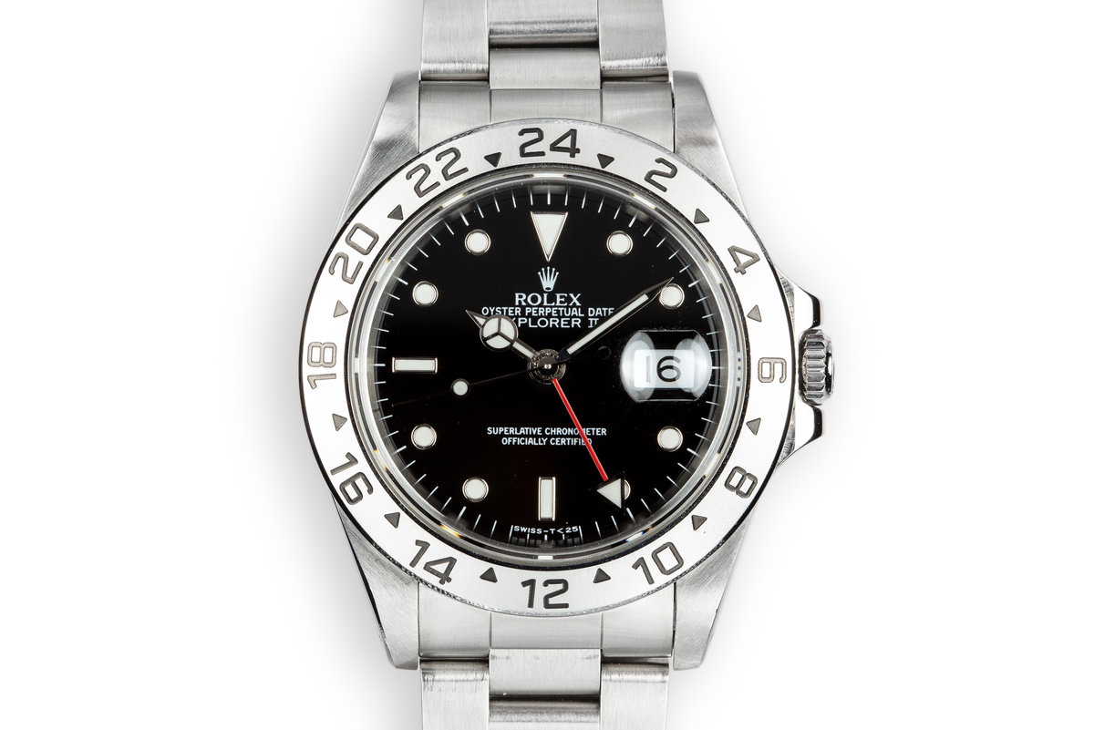 1994 Rolex Explorer II 16570 Black Dial photo, #0