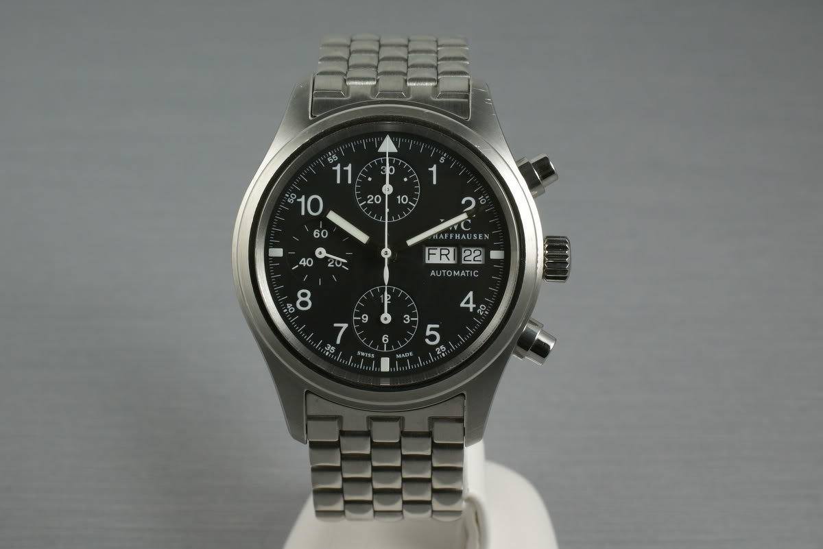 IWC Pilot Chronograph 3706 photo, #0