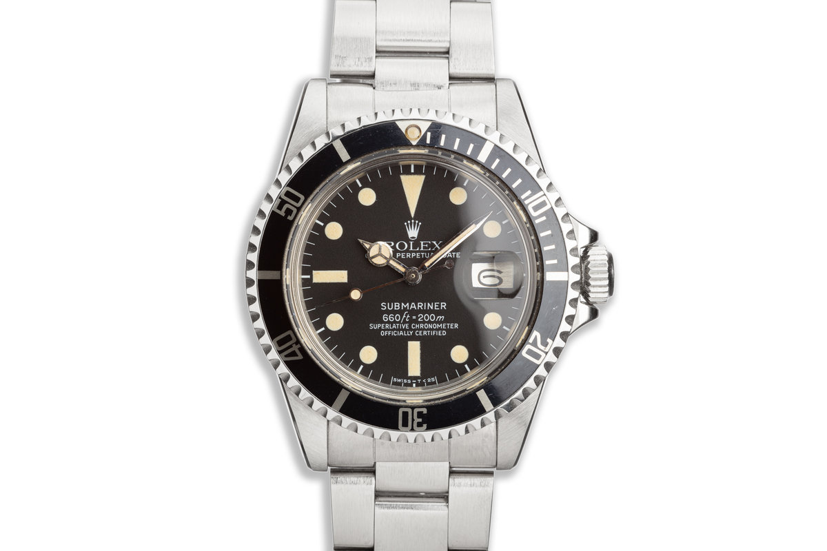 1978 Vintage Rolex Submariner 1680 photo, #0