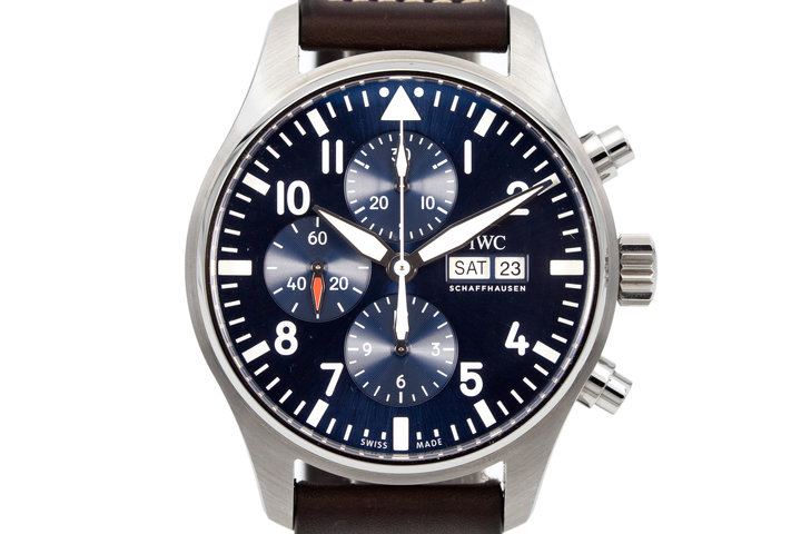 2016 IWC Pilot's Chronograph IW377714 with Box and Papers photo
